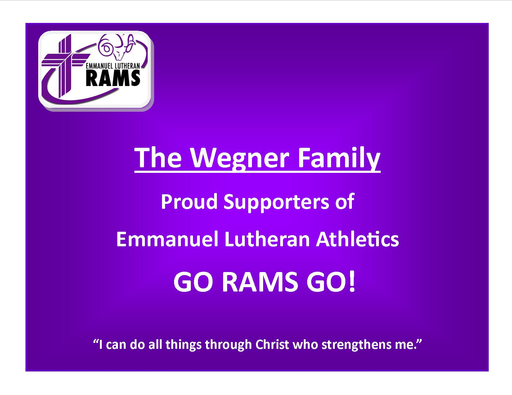 Family Banner Sample-Wegner