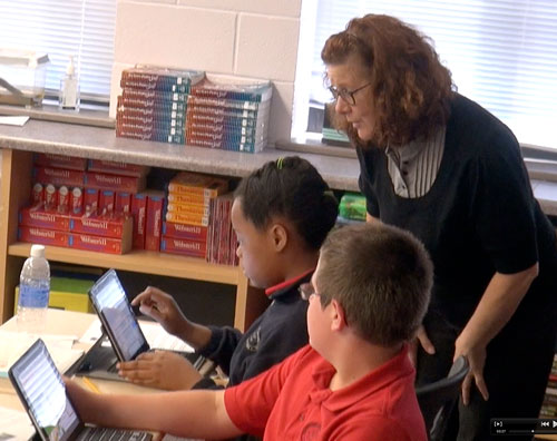 Student iPads Asheville
